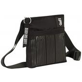 Borsa tracolla Juventus Mini Shoulder Bag Bianco e nero. Black and White