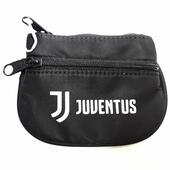 Portamonete Juventus Ring Coin Case Bianco e nero. Black and White