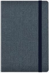 Agenda Legami Photo 2019-2020, 18 mesi, settimanale medium Blu. Blue Tweed. Con Notebook  - Libraccio.it