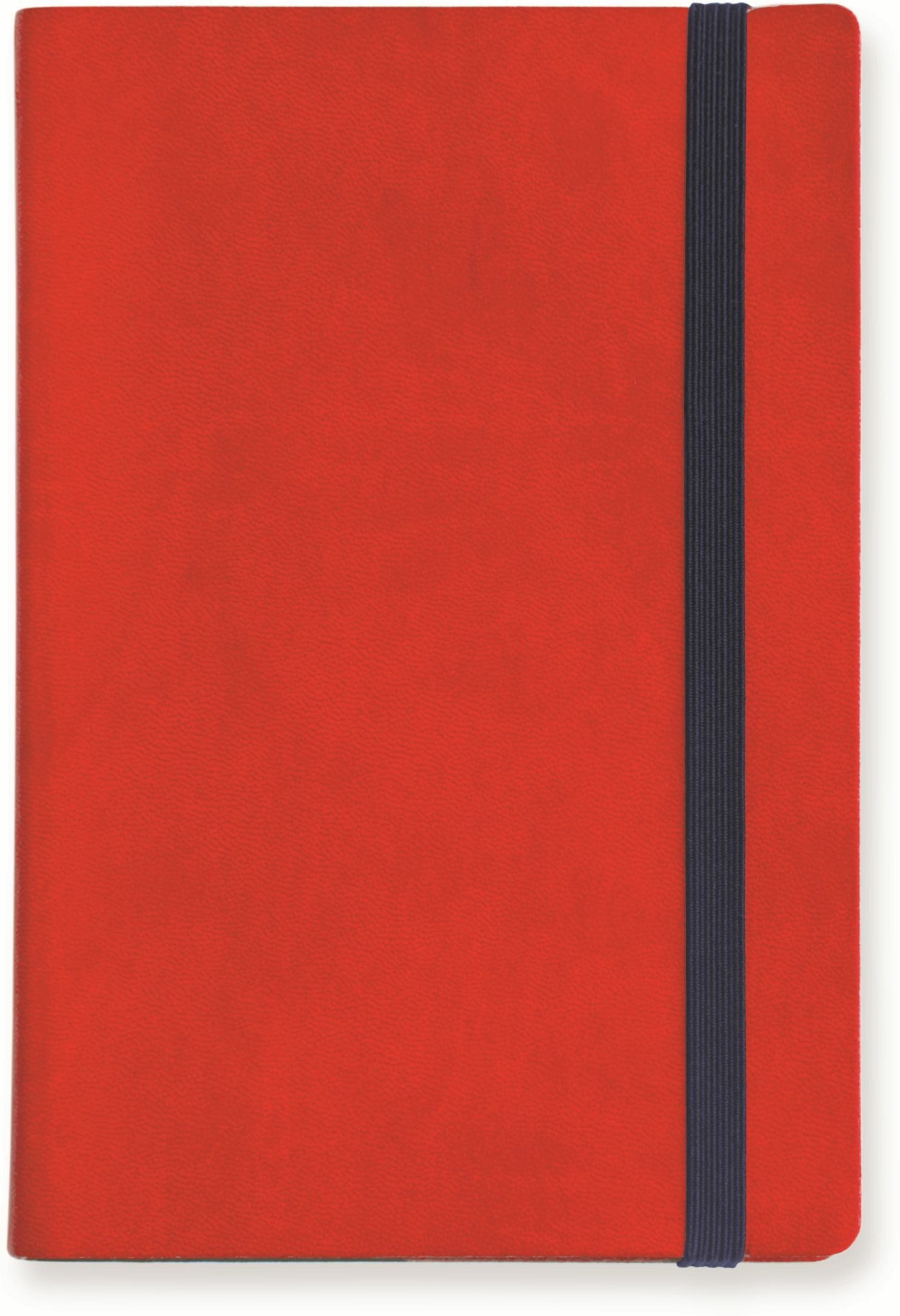 Image of My Notebook Small a pagine bianche. Rosso
