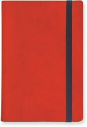 My Notebook Large a pagine bianche. Rosso