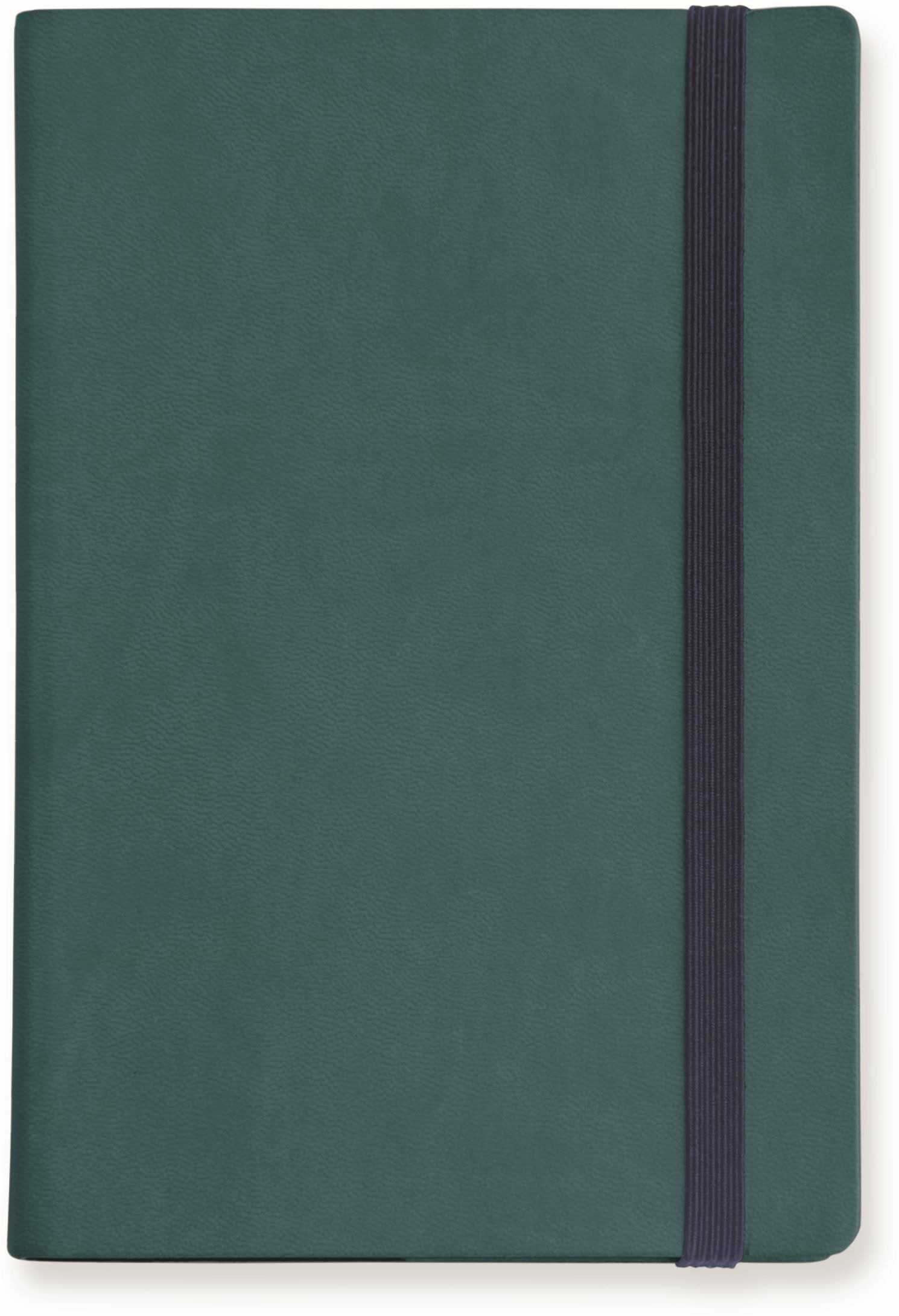Image of My Notebook Large a pagine bianche. Blu petrolio