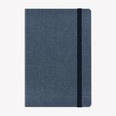Agenda Legami 2020-2021, 18 mesi, settimanale Medium Blu. Blue Tweed. Con Notebook