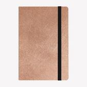 Agenda Legami 2020-2021, 18 mesi, settimanale Medium Rosa Metallizzato. Metallic Rose Gold. Con Notebook