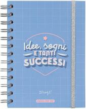 Agenda classica settimanale Mr Wonderful 2020-2021 Pocket