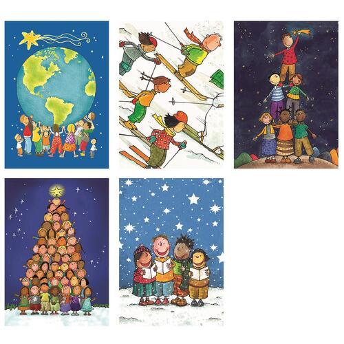 Biglietti Auguri Natale.Biglietti Auguri Natale Unicef Confezione 10 Pezzi