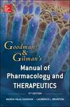 Goodman & Gilman's manual of pharmacology and therapeut