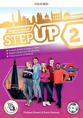 Step up gold. Student's book-Workbook-Extra book. Con e-book. Con espansioni online. Con Libro: Mind map. Vol. 2