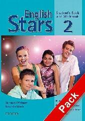 English stars. Level 2. Student's pack. Student's book-Workbook-Extra book. Con Multi-ROM