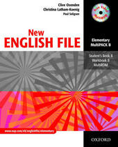 New English file. Elemetary. Student's pack. Part B. Studen t's book-Workbook. With key.