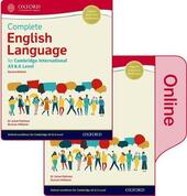 Complete English language for Cambridge international AS & A level. Student book. Con e-book. Con espansione online