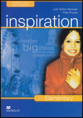 Inspiration. Elementary. Student's book-Workbook-Extra book. Con CD Audio. Con CD-ROM