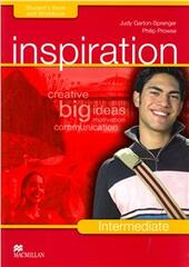 Inspiration. Intermediate. Student's book-Workbook-Extra book. Con CD Audio. Con CD-ROM