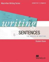 Writing sentences. Con DVD. Con espansione online