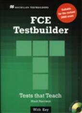 First certificate testbuilder. With key. Con CD Audio.