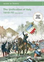 The unification of Italy 1815-1870.  - Robert D. Pearce, Andrina Stiles Libro - Libraccio.it