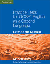Practice tests for IGCSE english as a second language: listening and speaking. Con espansione online. Vol. 1