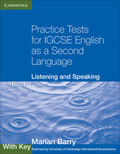 Practice Tests for IGCSE English as a Second Language. Book 1 with Key