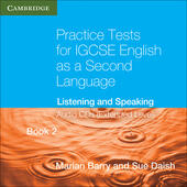 Practice Tests for IGCSE English as a Second Language. Extended Level Book