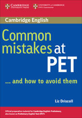 Common mistakes at PET... and how to avoid them.