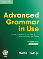 Advanced grammar in use. With answers. Con CD-ROM