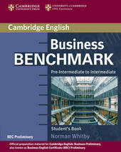 Business benchmark. Pre-intermediate to intermediate. Con espansione online.