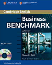 Business Benchmark. Advanced. BULATS Student's Book. Con CD-ROM