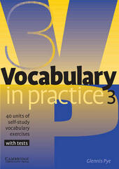 VOCABULARY IN PRACTICE 3 - PRE-INTERMEDIATE
