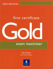 FIRST CERTIFICATE GOLD EXAM MAXIMISER