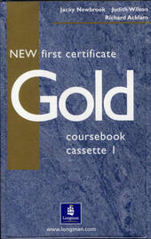 NEW FIRST CERTIFICATE GOLD - CLASS AUDIO CASSETTES