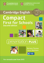 Compact First for Schools. Presentation Plus. DVD-ROM