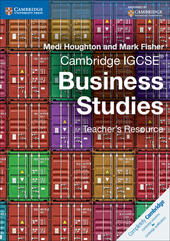 Cambridge IGCSE: Business Studies. Teacher's Resource