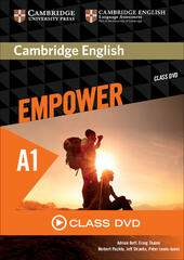 Cambridge English Empower. Level A1 Class DVD  - Adrian Doff, Craig Thaine, Herbert Puchta Libro - Libraccio.it