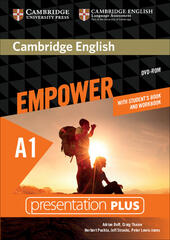 Cambridge English Empower. Level A1 Presentation Plus with Student's Book and Workbook