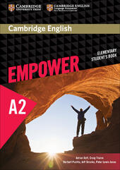 Cambridge English Empower. Level A2 Student's Book