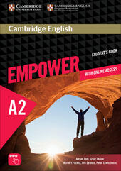 Cambridge English Empower. Level A2 Student's Book with Online Assessment and Practice, and Online Workbook