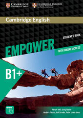 Empower. B1+ intermediate. Student's book. Con espansione online