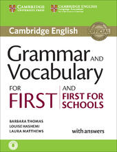 Cambridge grammar for first certificate. With answers. Con CD Audio. Con espansione online