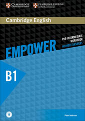 Empower. B1. Pre-intemediate. Workook. Without answers. Con e-book. Con espansione online