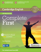Complete First. Student's Book with answers. Con CD-ROM