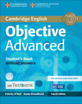Objective Advanced. Student's Book without answers. Con CD-ROM