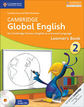 CAMBRIDGE GLOBAL ENGLISH LEARNER'S BOOK WITH AUDIO CD STAGE 2