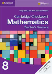Cambridge Checkpoint Mathematics. Teacher's Resource Stage 8