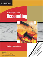 Cambridge IGCSE: Accounting. Student's Book
