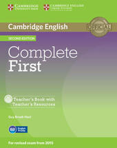 Complete First. Teacher's Book. Con CD-Audio