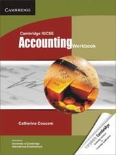 Cambridge IGCSE and O level accounting. Workbook.