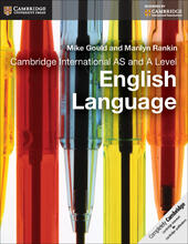 Cambridge International AS and A Level English Language. Coursebook.