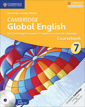 Cambridge Global English. Stages 7-9. Stage 7 Coursebook. Con CD-Audio
