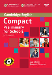 Compact Preliminary for Schools. DVD-ROM
