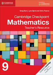 Cambridge Checkpoint Mathematics. Teacher's Resource Stage 9. CD-ROM